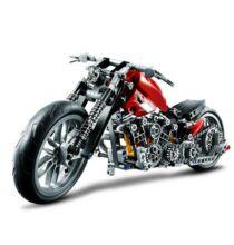 BEILEXING ABS DIY motor - Piros