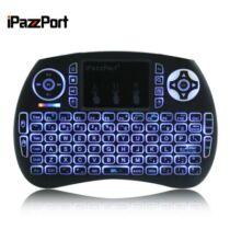 iPazzPort Wireless Mini Billentyűzet - Fekete