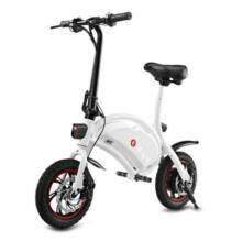 EU ECO Raktár - F - wheel DYU elektromos bicikli - Fehér