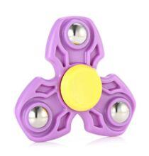 Három ágú ADHD stresszcsökkentő Fidget Spinner - Lila