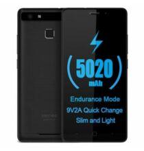 Vernee Thor E 4G okostelefon (HK) - Fekete