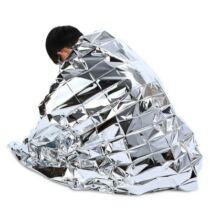 Hőszigetelő kemping takaró 5db - Ezüst