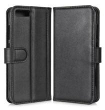 Xiaomi Mi 6 pénztárca stilusú védőtok - Fekete