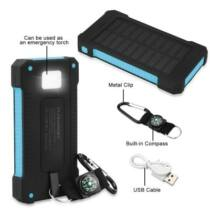Floureon D1000 10000mAh Napelemes Power Bank