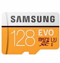 EU ECO Raktár - Samsung EVO Ultra Micro SDHC UHS-1 Professzionális Memórakártya - 128 GB