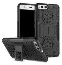 Xiaomi Mi 6 3D keréknyom mintás védőtok - Fekete