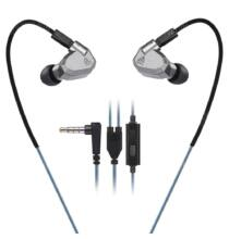 KZ ZS5 3.5mm (In-Ear) hibrid headset - Mikrofonnal, Szürke