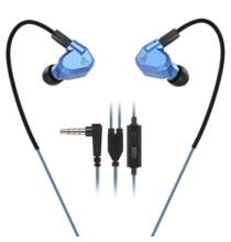 KZ ZS5 3.5mm (In-Ear) hibrid headset - Mikrofonnal, Kék