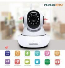 EU ECO Raktár - FLOUREON 720P Wifi 1.0 Megapixel Vezetéknélküli IP Kamera