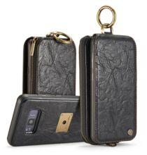 CaseMe Samsung Galaxy S8 Műbőr tárca és védőtok - Fekete