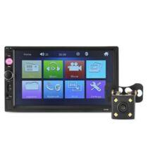 EU ECO Raktár - 7010B 2 DIN Univerzális érintőkijelzős autós multimédia lejátszó