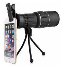Vízálló 16 X 52mm okostelefon objektív (CN) - Fekete