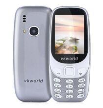 Vkworld Z3310 2G mobiltelefon (CN) - Z3310-B, Szürke