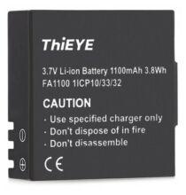 ThiEYE 3.7V 1100mAh Akkumulátor - Fekete