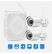 EU ECO Raktár - FLOUREON 1080P Full HD Vezetéknélküli WiFI IP Kamera Szett