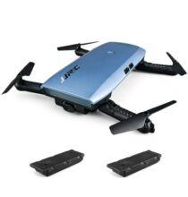 EU ECO Raktár - JJRC H47 ELFIE+ RTF szelfi drón tartalék akkus verzió - Kék