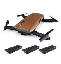 JJRC H47 ELFIE+ RTF szelfi drón tartalék 2 akkus verzió - Kávé