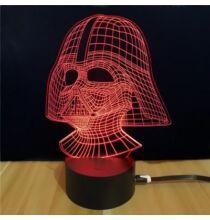 M.Sparkling Td054 Star Wars Darth Vader 3D LED dísz - Színes