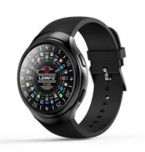 EU ECO Raktár - LEMFO LES2 3G okosóra telefon - Fekete