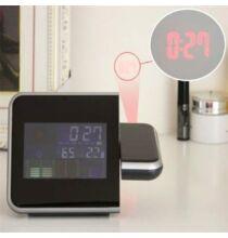 Projektoros digitális óra - Fekete