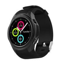 EU ECO Raktár - Microwear L1 2G okosóra telefon - Fekete