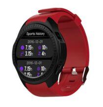 EU ECO Raktár - Microwear L1 2G okosóra telefon - Piros