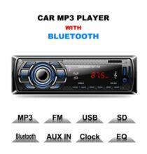Excelvan Autós 1 DIN Fejegység USB AUX Bluetooth Funkcióval