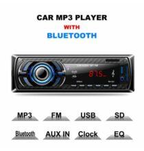 Excelvan RK-523 Autós 1 DIN Fejegység USB AUX Bluetooth Funkcióval