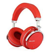 Bluedio T4S Bluetooth sztereó headset - Piros