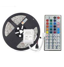 ZDM RGB LED 5 méter 75W Szalag Távirányítóval