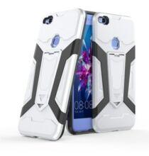 Huawei P8 Lite lökháritó stilusú védőtok - Ezüst