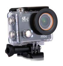 EU ECO Raktár - 20MP 4K vízálló akció kamera - Fekete