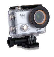 20MP 4K vízálló akció kamera - Ezüst