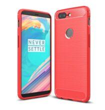 Luanke OnePlus 5T cseppálló hátlapvédő tok - Piros