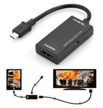 gocomma Micro USB to HDMI MHL Adapter kábel okostelefonhoz és táblagéphez