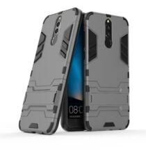 Huawei Mate 10 Lite kemény műanyag védőtok - Sötétszürke