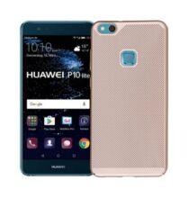 Huawei P10 Hátlapvédő tok TPU - Hálós - Arany