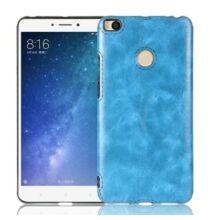 Crazy Horse Xiaomi Mi Max 2 műbőr  védőtok - Kék