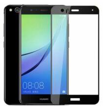 Huawei Mate 10 Lite Edzett üveg teljes kijelzővédő - Fekete