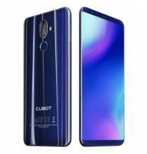 CUBOT X18 Plus 4G okostelefon (HK2) - Kék