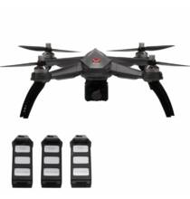 EU ECO Raktár - MJX Bugs 5W ( B5W ) WiFi FPV RC Drón - Szürke 3 Akkumulátor