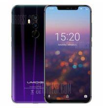 EU ECO Raktár - UMIDIGI Z2 4G Okostelefon (HK2) - 6GB + 64GB - Alkonyat fekete