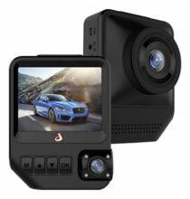 """EU ECO Raktár - Junsun Q2 2.31"""" Dupla kamerás autós fedélzeti menetrögzítő DVR - 1080P Full HD"""