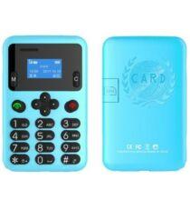 AEKU A6 2G Kártya méretű telefon magyar menü - Kék