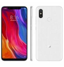 EU ECO Raktár - Xiaomi Mi 8 4G okostelefon Globális verzió - Fehér