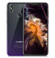 CUBOT P20 okostelefon 4GB RAM 64GB ROM - Alkonyat Fekete