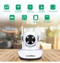 FLOUREON 1080P 2.0MP 1920*1080 fullHD Vezetéknélküli WiFi IP Kamera