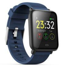 Q9 Vízálló okostelefonhoz csatlakoztatható Egézség figyelő sporttevékenység figyelő okosóra - Kék