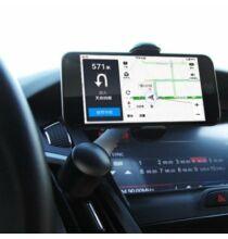 360 fokban forgatható autós mobiltelefon tartó