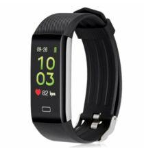 Alfawise B7 Pro Fitneszkarkötő 7/24h valósidejű szívritmus figyelés - Fekete